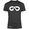 GO ALL DAY Infinity Logo Poly/Cotton Tee (Charcoal)