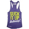 """SUCK IT UP"" Signature Series Racerback Tank (Purple)"