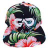 GO ALL DAY® Floral Snapback Hat (Black)