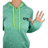"Women's ""Cosmic"" Hoodie Fleece (Emerald Green)"