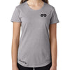 Women's GO ALL DAY Infinity Logo TriBlend Tee (Grey)