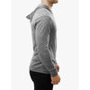 GO ALL DAY Lightweight TriBlend Hoodie (Grey)