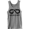 GO ALL DAY® Unisex Tank (Heather Grey)