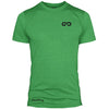 GO ALL DAY Infinity Logo Poly/Cotton Tee (Green)