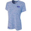 Galaxy DRY-FIT Womens Performance Tee (Light Blue)