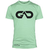 GO ALL DAY Infinity Logo Poly/Cotton Tee (Mint)