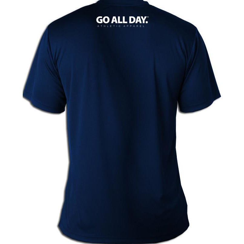 DRY-FIT Mens Tee (Navy Blue) Performance