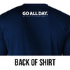 DRY-FIT Long-sleeve Shirt (Navy Blue) Performance