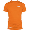 GO ALL DAY Infinity Logo Poly/Cotton Tee (Orange)