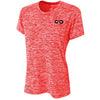 Galaxy DRY-FIT Womens Performance Tee (Red)