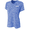 Galaxy DRY-FIT Womens Performance Tee (Royal Blue)