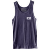 GO ALL DAY® Unisex Tank (Navy) Small Logo