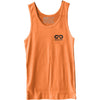GO ALL DAY® Unisex Tank (Neon Heather Orange) Small Logo