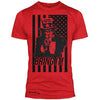 """Uncle Sam"" v2.0 Signature Series Poly / Cotton Tee (Red)"