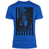 """Uncle Sam"" v2.0 Signature Series Poly / Cotton Tee (Blue)"