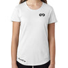Women's GO ALL DAY Infinity Logo TriBlend Tee (White)