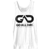 GO ALL DAY® Unisex Tank (White)