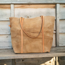 Dune tote in tan