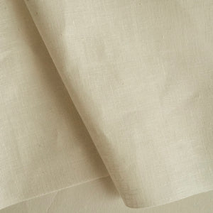 Hemp/organic cotton muslin - natural