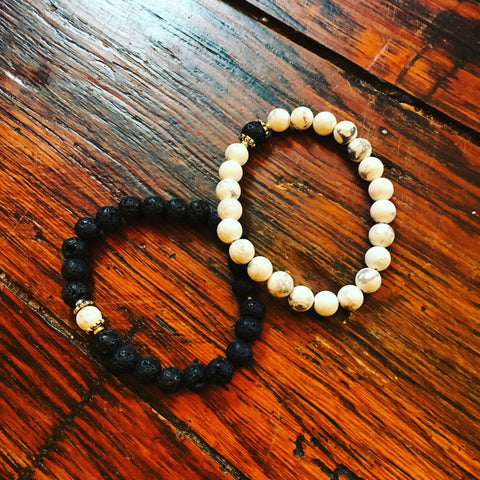Lava Rock Bracelet for essential oils