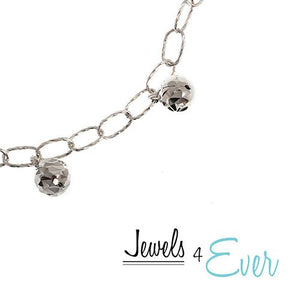 Sterling Silver Jingle Ball Bracelet