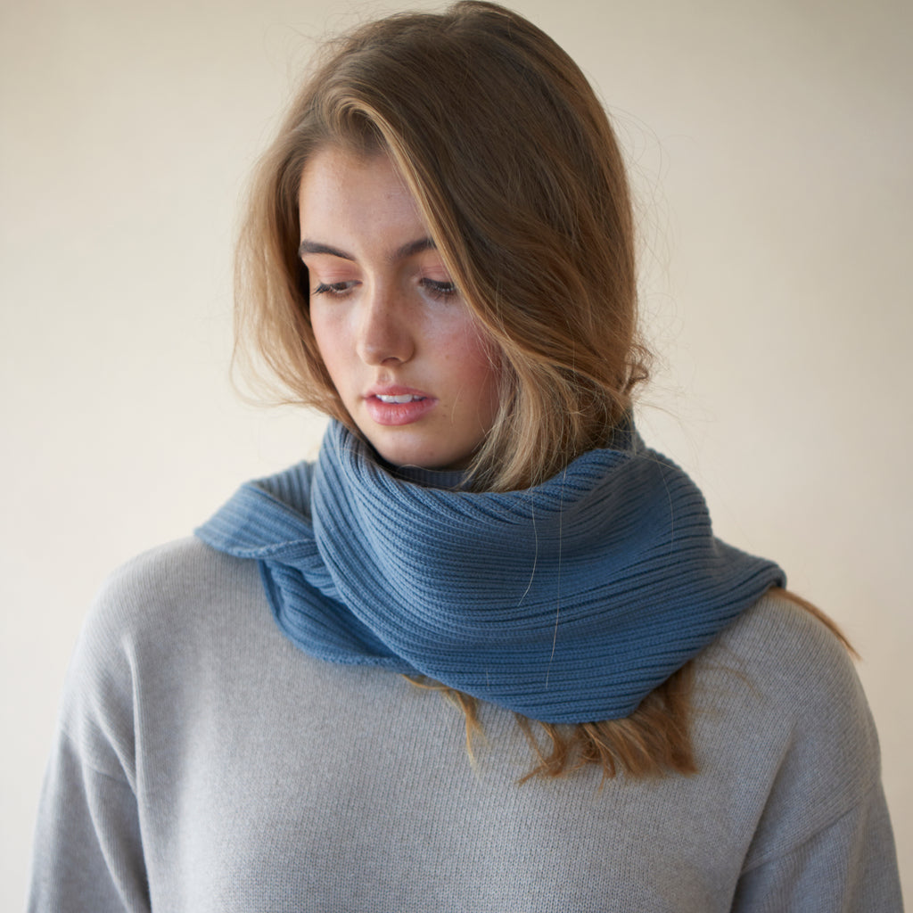 Luxe Slate Scarf