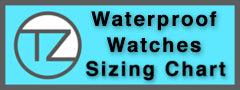 TZ LIFESTYLE | Waterproof Watch Size Chart