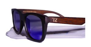 Ripcurlz | Blue Lens | Floating Bamboo Sunglasses | Polarized | TZ LIFESTYLE