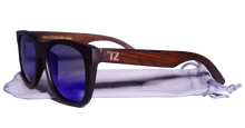 Load image into Gallery viewer, Ripcurlz | Blue Lens | Floating Bamboo Sunglasses | Polarized | TZ LIFESTYLE