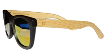 Load image into Gallery viewer, Maverickz | Red Lens | Floating Bamboo Sunglasses | Polarized | TZ LIFESTYLE