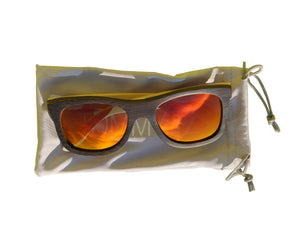 Maverickz | Red Lens | Floating Bamboo Sunglasses | Polarized | TZ LIFESTYLE