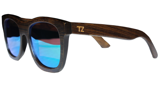 Swellz | Green Lens | Floating Bamboo Sunglasses | Polarized | TZ LIFESTYLE