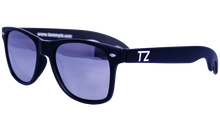 Load image into Gallery viewer, Bottle Opening Wayfarers | Chrome Opener | Mirrored Lens | Polarized | TZ Lifestyle