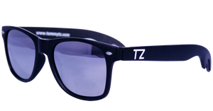 Bottle Opening Wayfarers | Chrome Opener | Mirrored Lens | Polarized | TZ Lifestyle