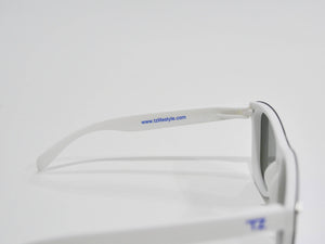 Blue Steel | Polarized Reflective Series Sunglasses/Wayfarers with Mirrored Lenses