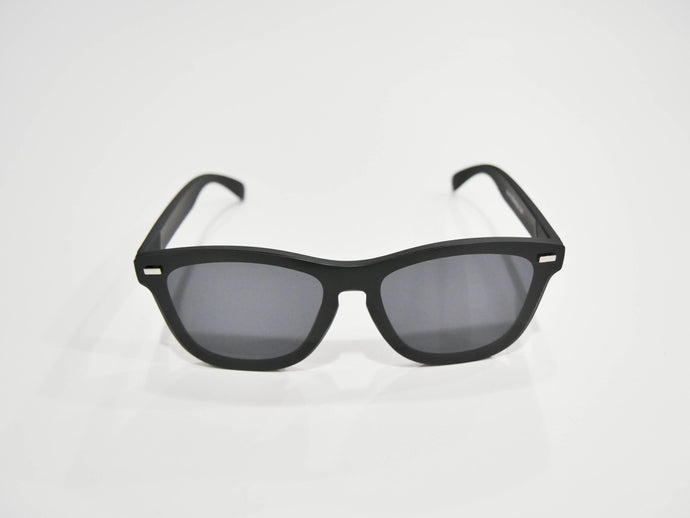 Black Ice | Polarized Reflective Series Sunglasses/Wayfarers with Mirrored Lenses
