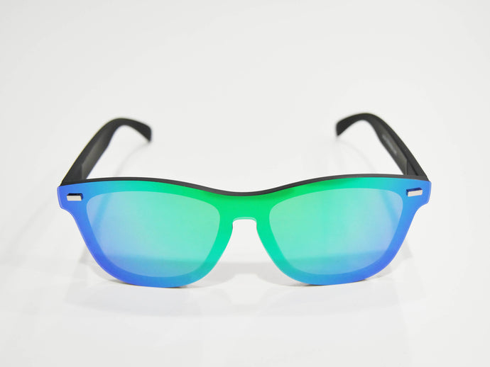 Go Green | Polarized Reflective Series Sunglasses/Wayfarers with Mirrored Lenses