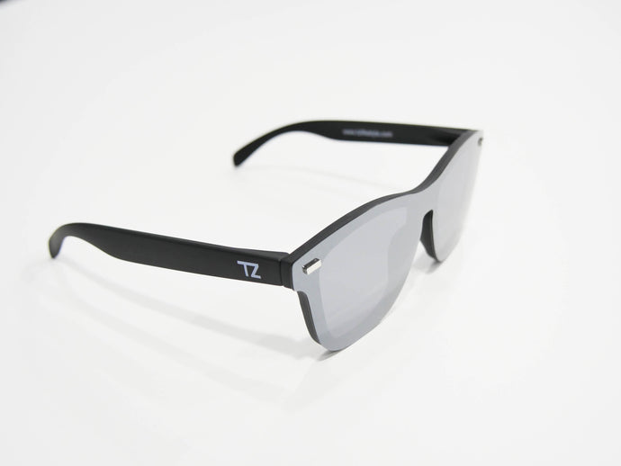 Iced Over | Polarized Reflective Series Sunglasses/Wayfarers with Mirrored Lenses