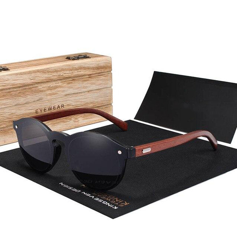Seven Seaz | Polarized Wood Sunglasses