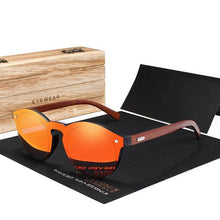 Load image into Gallery viewer, Seven Seaz | Polarized Wood Sunglasses