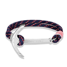 Load image into Gallery viewer, Nautical Anchor Bracelet