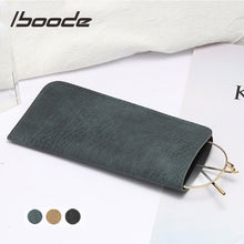Load image into Gallery viewer, Leather Sunglass Pouch (color)