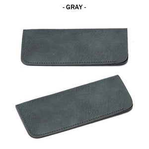 Leather Sunglass Pouch (color)
