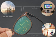 Load image into Gallery viewer, Smart Wood Bifocals