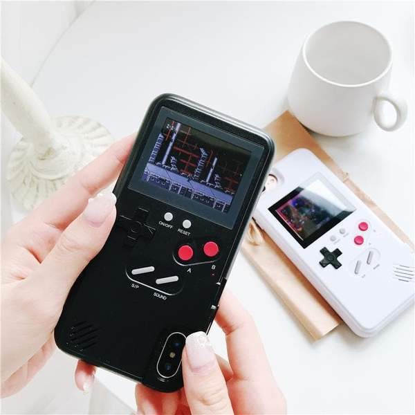 Retro Color 8-bit Playable iPhone Case