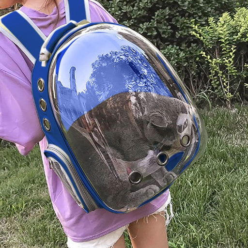 Transparent Breathable Travel Pet Backpack - Household Hacks