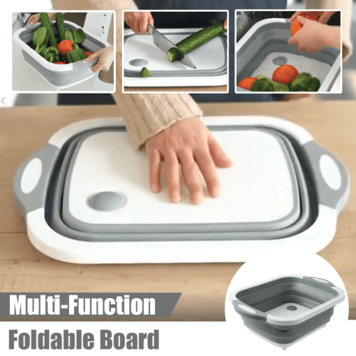 Foldable Multi-Function Chopping Board - Household Hacks