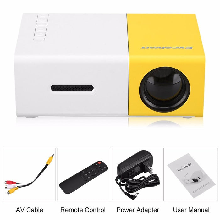 Portable Mini Projector