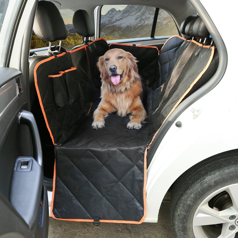 Quilted Non-Slip Dog Car Seat Cover - Household Hacks