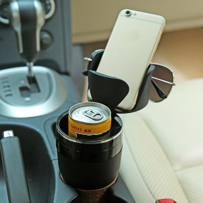 Multifunctional Car Cup Holder - Household Hacks